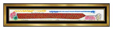 Roy De Forest, 'Roy De Forest Original Acrylic Painting Contemporary Signed Framed Artwork SBO', 1996