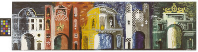 John Piper, 'Five Gates of London', 1975