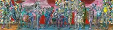Undine Bandelin, 'Der Pulk (the throng)', 2019