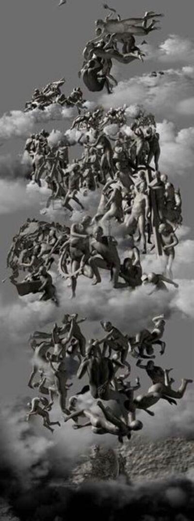 Miao Xiaochun 缪晓春, 'The Last Judgement, Side View', 2006