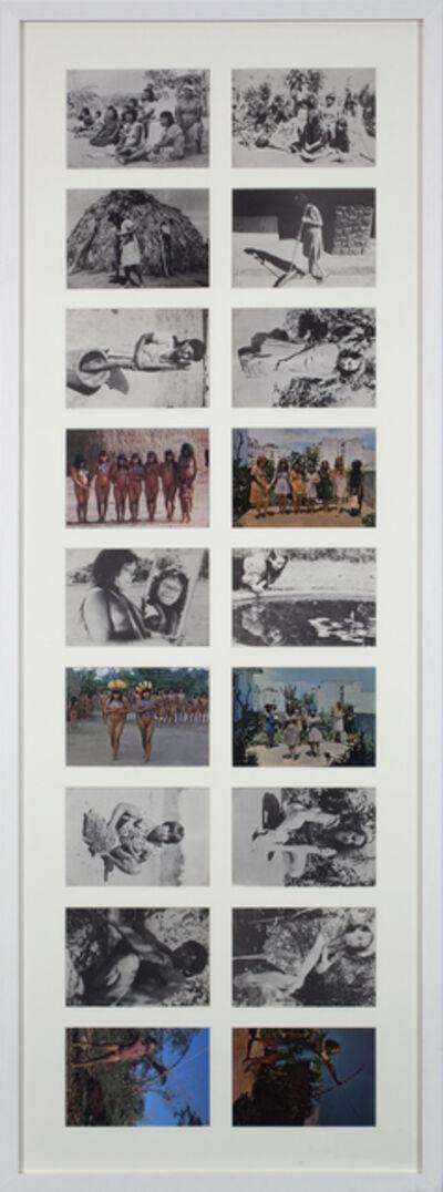 Anna Bella Geiger, 'Brasil nativo, Brasil alienígena', 1976-1977