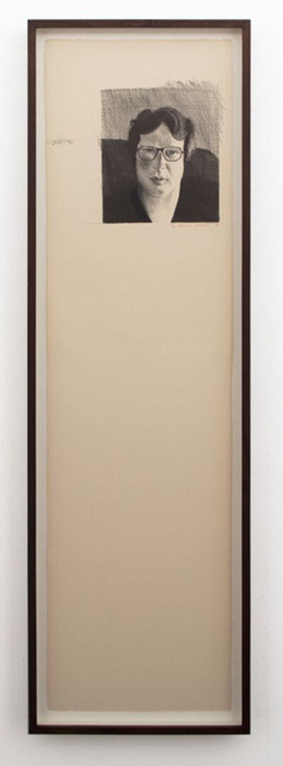 David Hockney, 'Michael Crichton', 1976