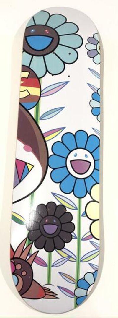 Takashi Murakami, 'Eden Flowers Skate Deck', 2019
