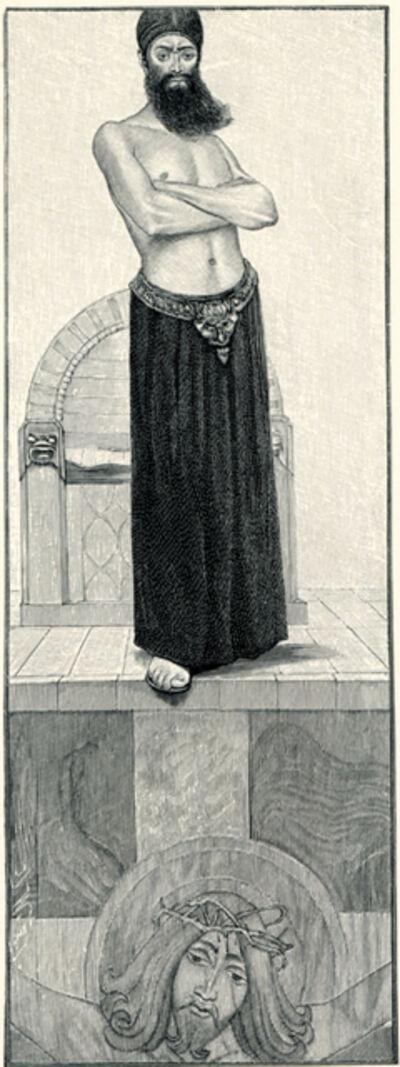 Sascha Schneider, 'Der Herr Der Erde', 1894-1895