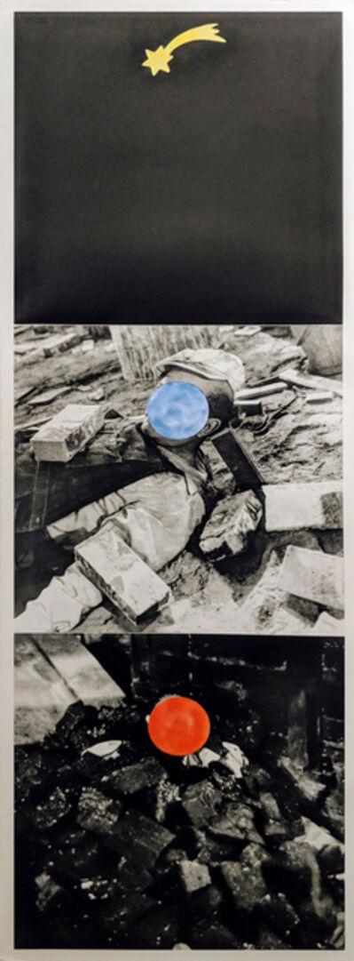 John Baldessari, 'Falling Star', 1989-90