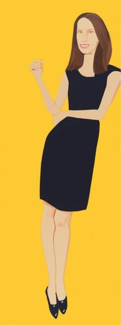 Alex Katz, 'Black dress Christy', 2015