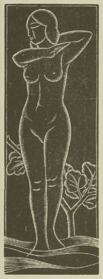 Eric Gill, 'The Bee Sting; Venus', 1934