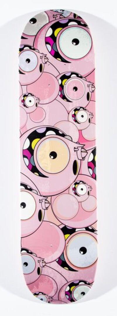 Dalek X UNHEARDOF, 'Space Monkey (Pink)', 2018