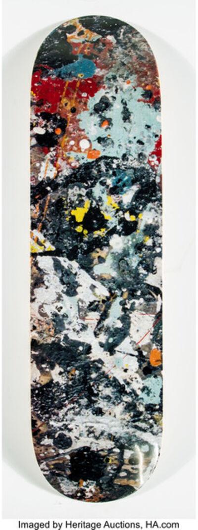 After Jackson Pollock X The Hundreds, 'Jackson Pollock Skateboard Deck', 2017