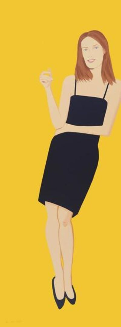 Alex Katz, 'Black Dress 4 (Sharon)', 2015