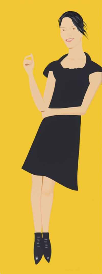 Alex Katz, 'Carmen (From the Black Dress Series)'