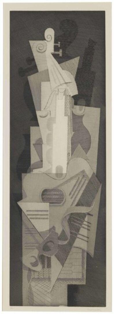 Louis Marcoussis, 'Musiques', circa 1930