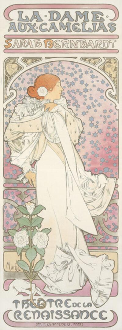 Alphonse Mucha, 'La Dame aux Camelias.', 1896