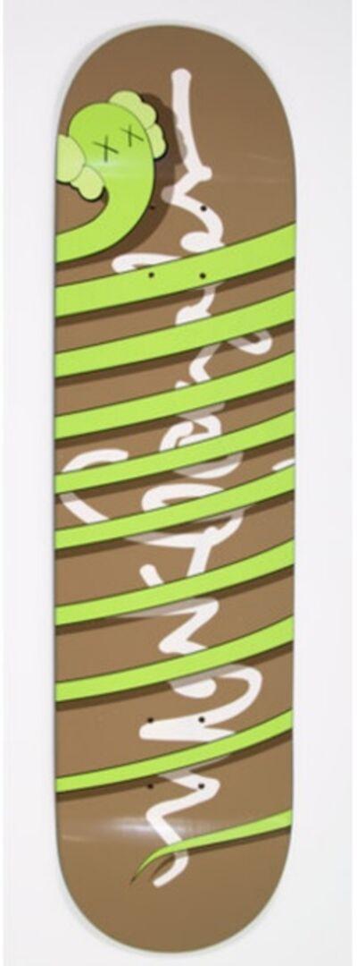 KAWS, 'Green Snake ', 2005