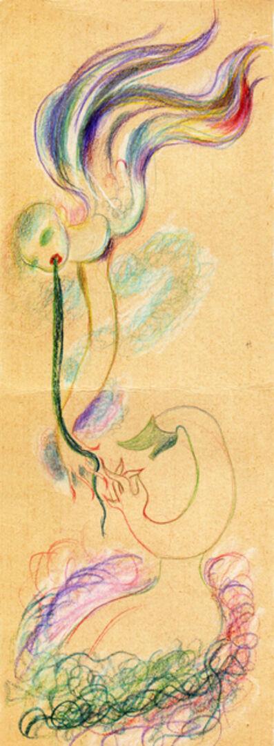 Hedda Sterne, 'Hedda Sterne, Medi Wechsler Dinu, Cadavre exquis 217', 1930-1932