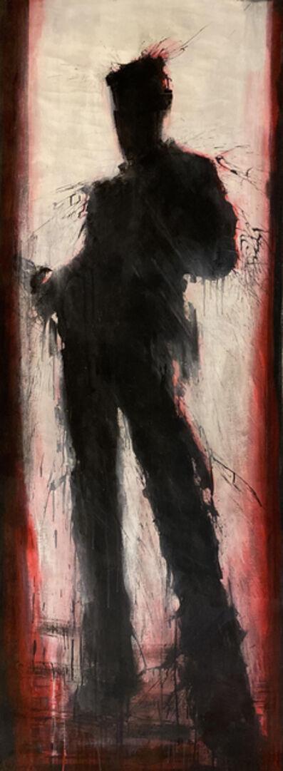 Richard Hambleton, 'Red Shadowman Standing', 1980-1989