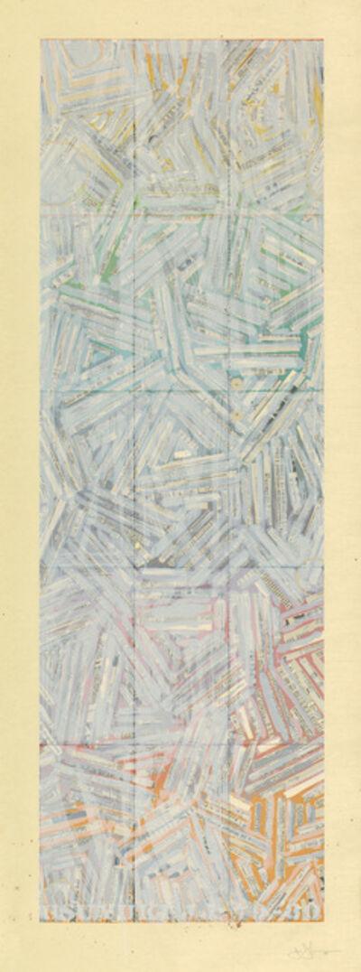 Jasper Johns, 'Usuyuki', 1980