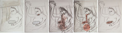 Ramin Haerizadeh, Rokni Haerizadeh & Hesam Rahmanian, 'RUMINATION AFTER Gertrude-Quastler (Ramin Haerizadeh)', 2018