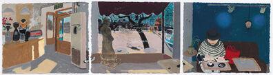 Wang Yuping, 'Café by the Forbidden City', 2015