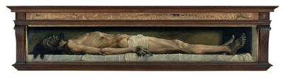 Hans Holbein the Younger, 'The Dead Christ in the Tomb', 1521-1522