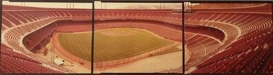 Jim Dow, 'Vintage Panoramic Triptych, San Francisco Candlestick Park Color Photograph', 20th Century