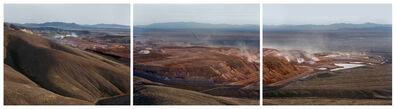 Laura McPhee, 'Hycroft Gold Mine, Black Rock Desert, Nevada (Tryptic)', 2021