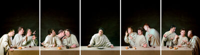 Raoef Mamedov, 'Last Supper. Poliptych from 5 parts', 1996-1997