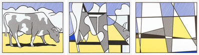 Roy Lichtenstein, 'Cow Going Abstract', 1982