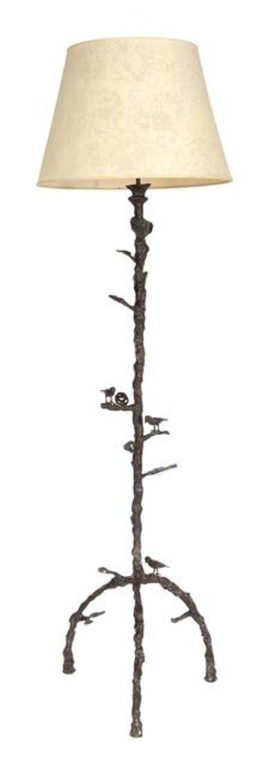 Diego Giacometti, 'Diego Giacometti Bronze Trois Oiseaux Floor Lamp', Circa 1975