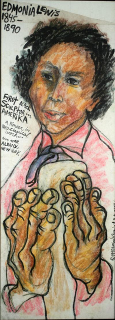 Aminah Brenda Lynn Robinson, 'Edmonia Lewis/Sculptor - A Clutch of Blossom Series', 1990