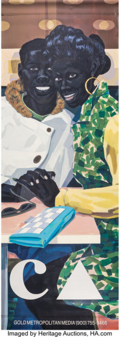 After Kerry James Marshall, 'Mastry, exhibition banner', 2017