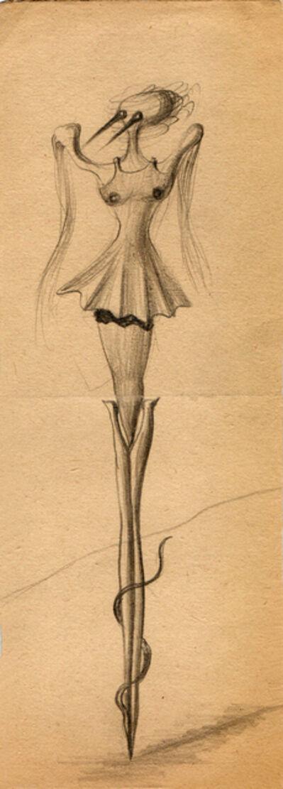 Hedda Sterne, 'Hedda Sterne, Theodore Brauner, Cadavre exquis 262', 1930-1932