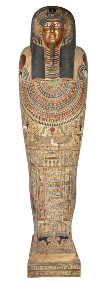 'Coffin and mummy of Nesmin', 250 BCE