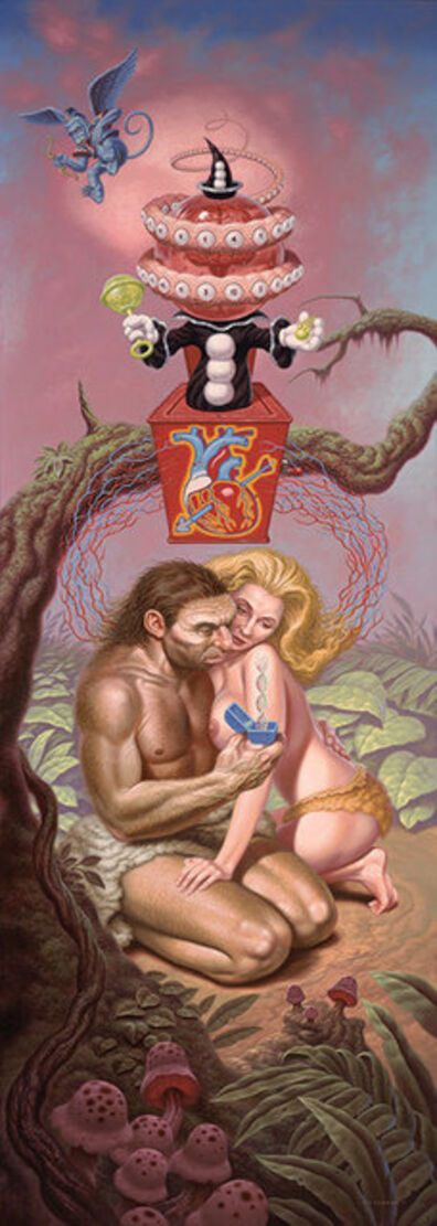 Todd Schorr, 'The Hidden Neanderthal ', 2011