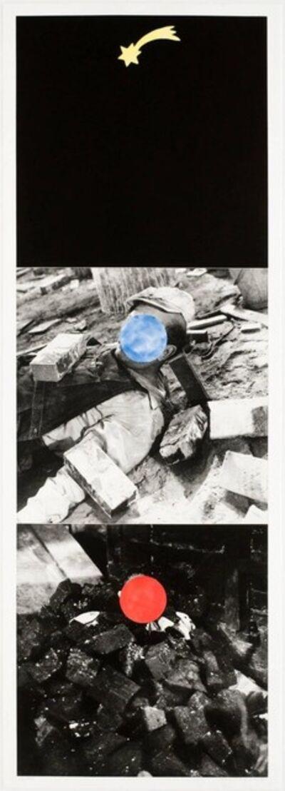 John Baldessari, 'Falling Star', 1989
