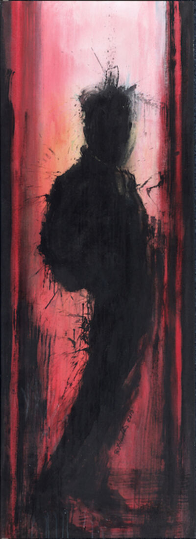 Richard Hambleton, 'Standing Shadowman, (Reds)', 2010