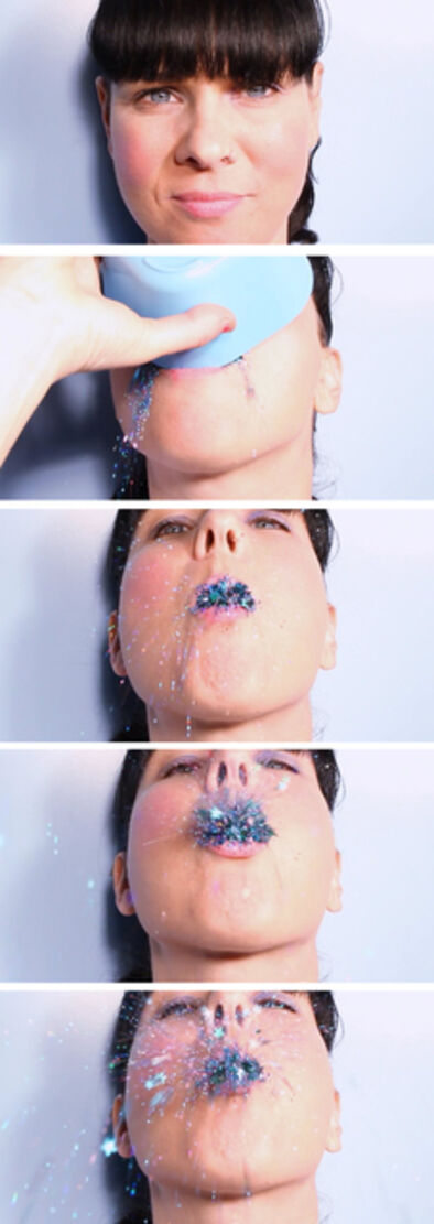 Ray Harris, 'GLITTER VOMIT', 2010