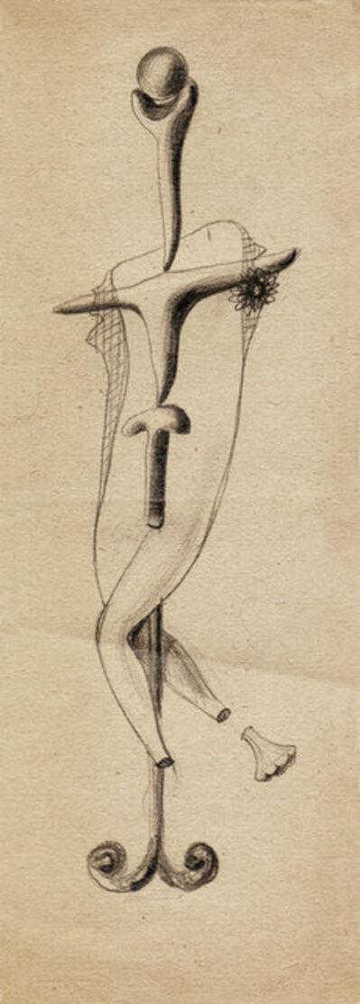 Hedda Sterne, 'Hedda Sterne, Theodore Brauner, Cadavre exquis 254', 1930-1932
