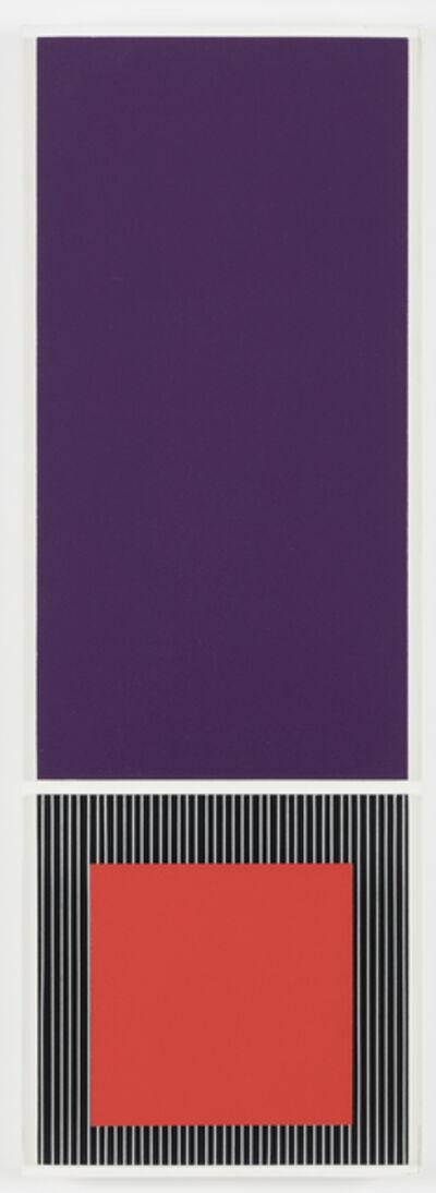 Jesús Rafael Soto, 'Rouge et violet', 1988