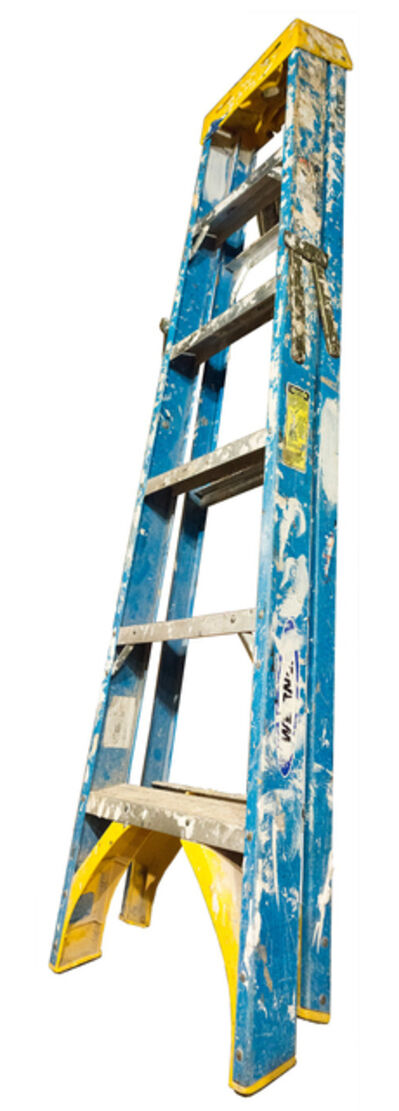 Jennifer Williams, 'Medium Folding Ladder: Blue with Yellow Top and Paint', 2014