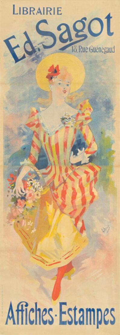 Jules Chéret, 'Libraire Ed. Sagot / Affiches-Estampes', 1891