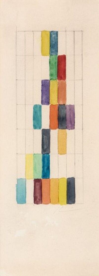 Alejandro Otero, 'Sin título. De la serie Impresiones', ca. 1970