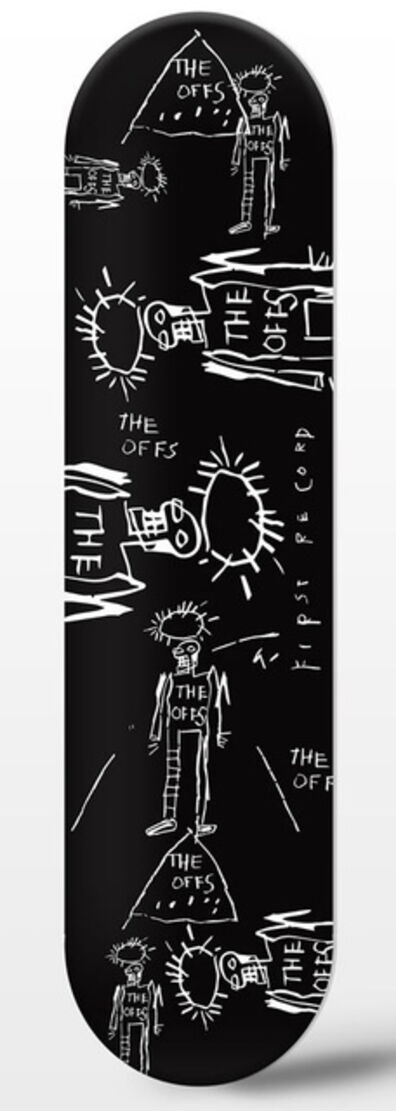 Jean-Michel Basquiat, 'The Offs Limited Edition Skate Deck by Jean-Michel Basquiat #2', 2019