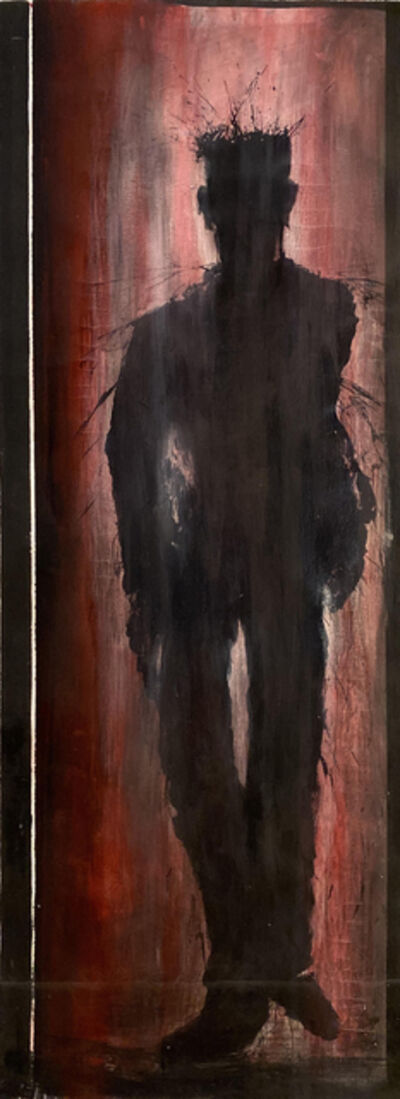 Richard Hambleton, 'Red Shadowman Walking', 1980-1989