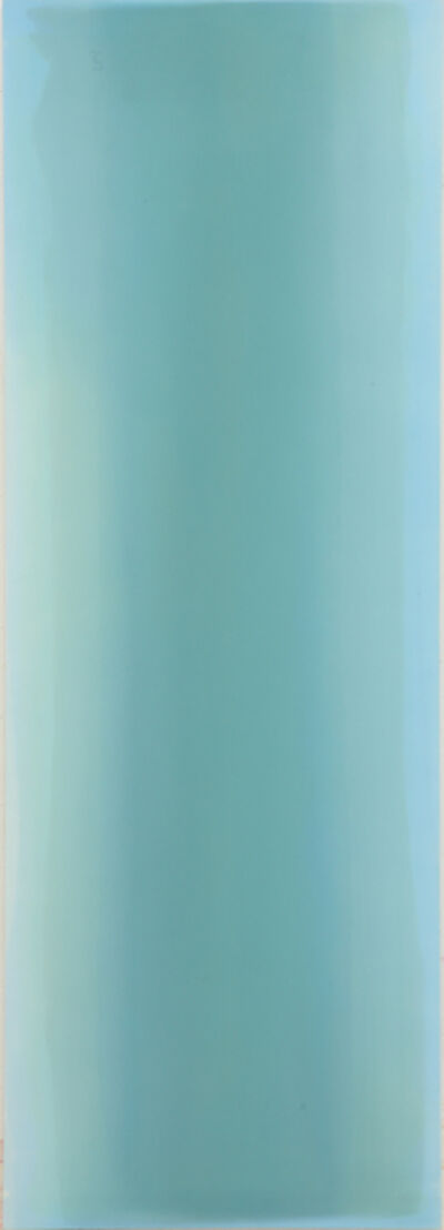 Taek Sang Kim, 'Breathing Light - Greenish Blue', 2018