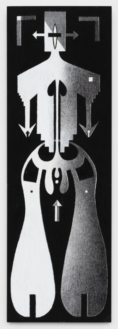 Anton van Dalen, 'Human Logo #4', 1992