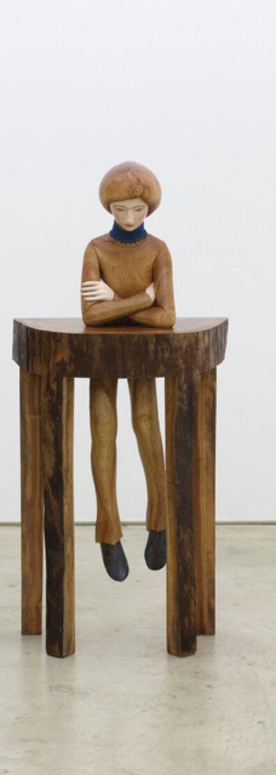 Tanada Koji, 'desk boy - Moon', 2015