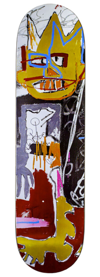 Jean-Michel Basquiat, 'Basquiat Skateboard Deck (Basquiat A-One) ', 2020