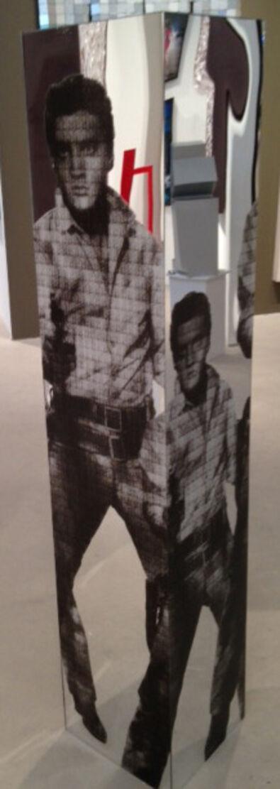 Alex Guofeng Cao, 'Love You Tender, Kill Me Softly: Elvis vs Warhol', 2013