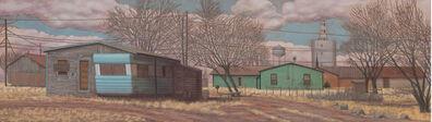 Randy Bacon, 'Old Henry's House, Lamesa #3'